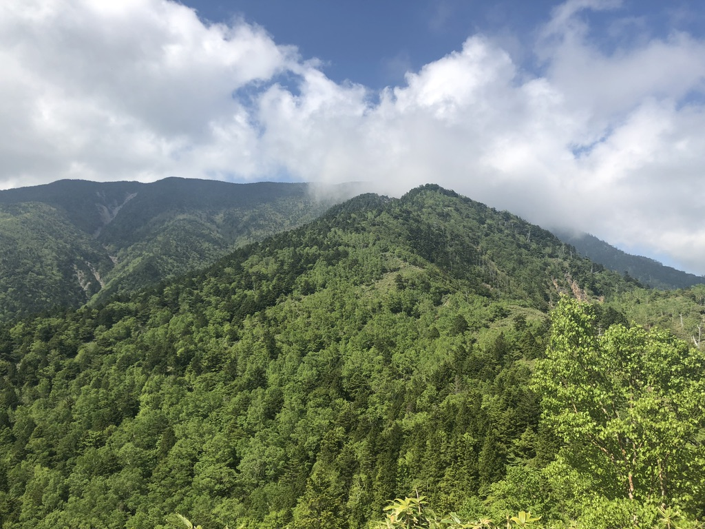 恵那山・大判山から恵那山へ