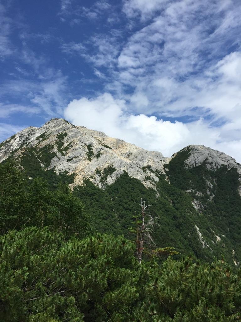 甲斐駒ヶ岳・駒津峰からの甲斐駒ヶ岳