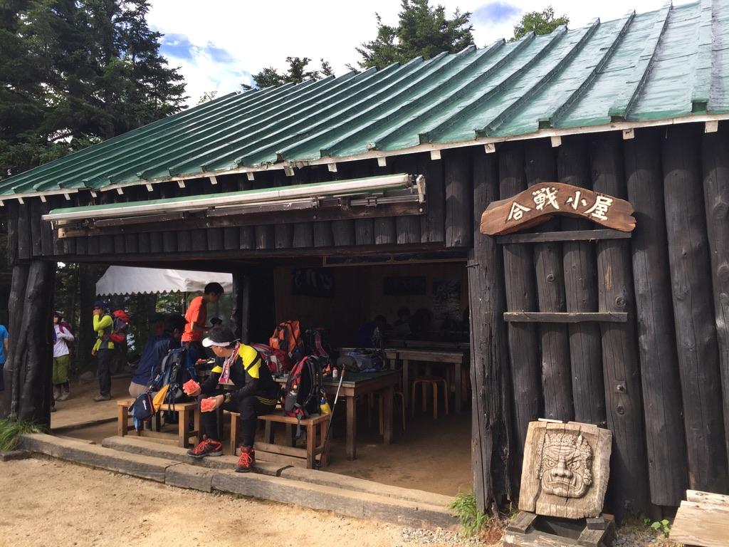 燕岳・合戦小屋2
