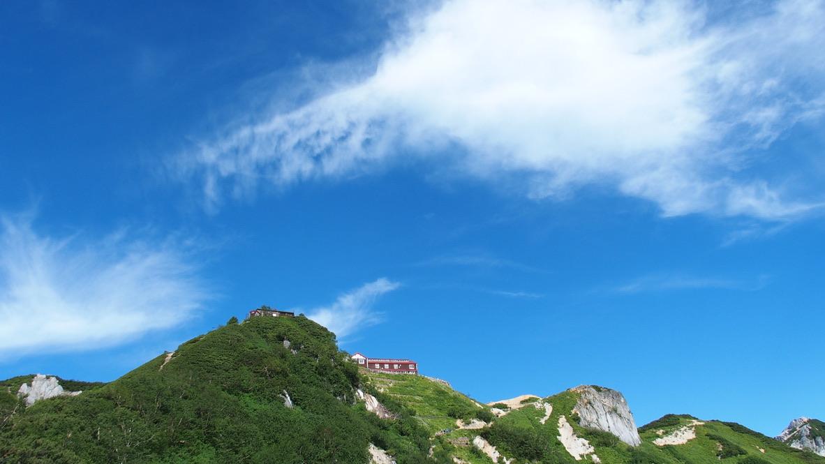 燕岳・燕山荘まであと少し