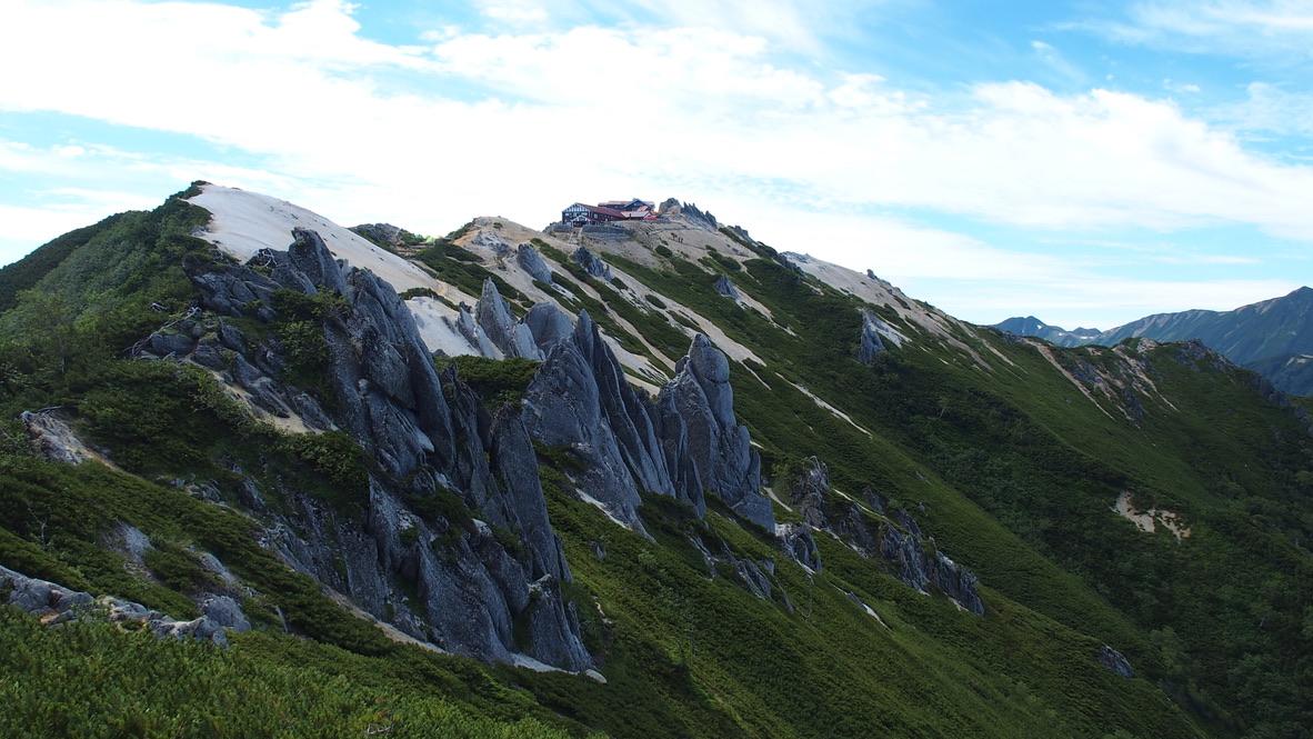 燕岳・燕岳は奇岩がたくさん