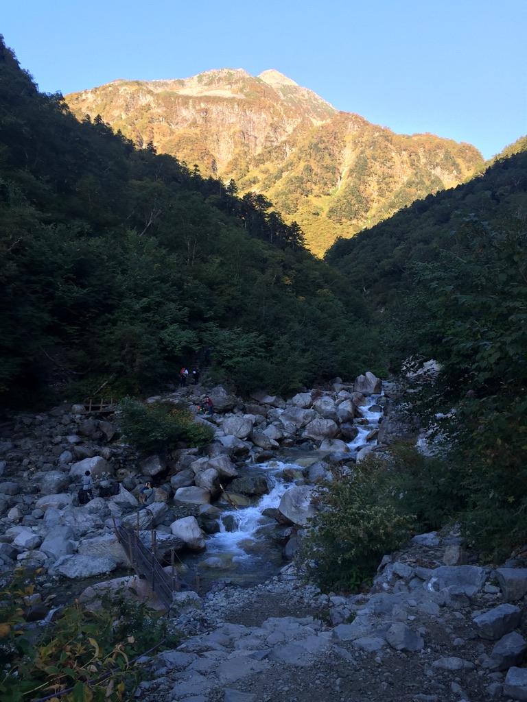 槍ヶ岳・涸沢・本谷橋からの北穂高岳