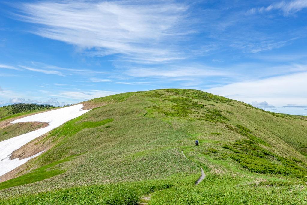 巻機山・最後の登り牛ヶ岳