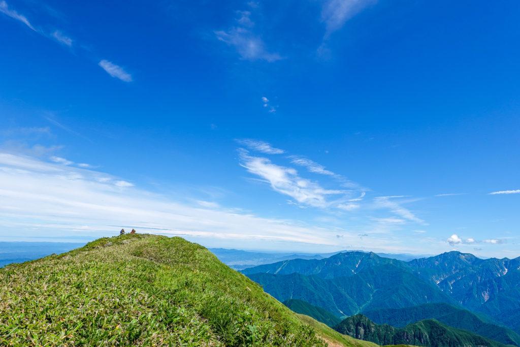 巻機山・牛ヶ岳山頂