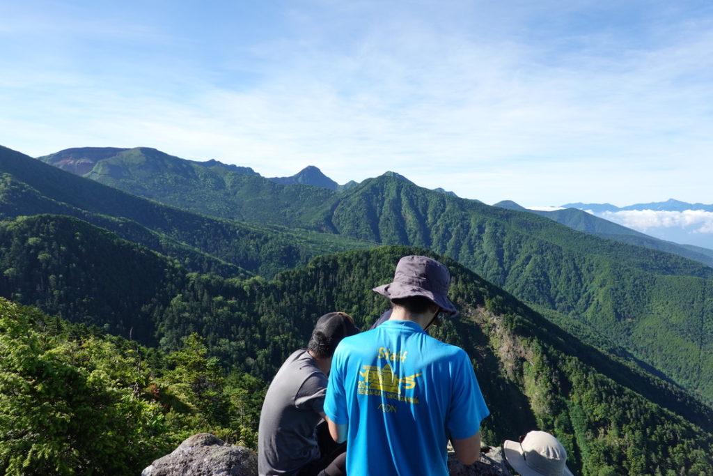東天狗岳・西天狗岳・第一展望台からの南八ヶ岳