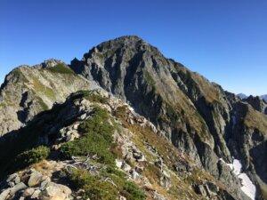 剱岳・前剱からの剱岳山頂