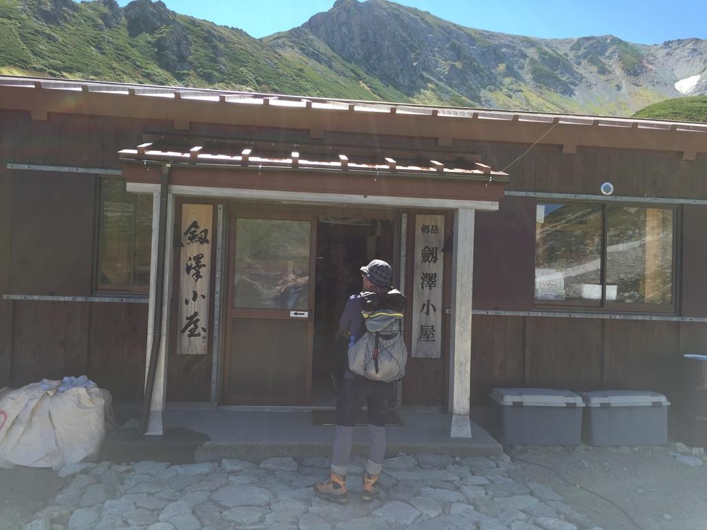 剱岳・剱澤小屋
