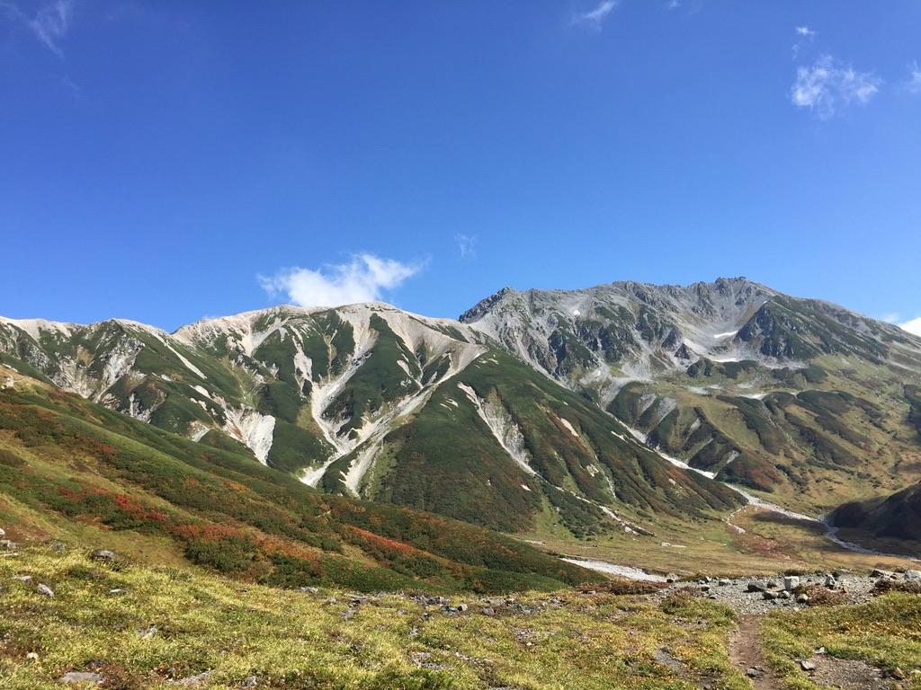 剱岳・立山と真砂岳