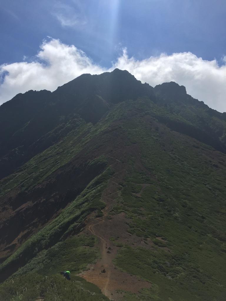 南八ヶ岳・中岳からの赤岳
