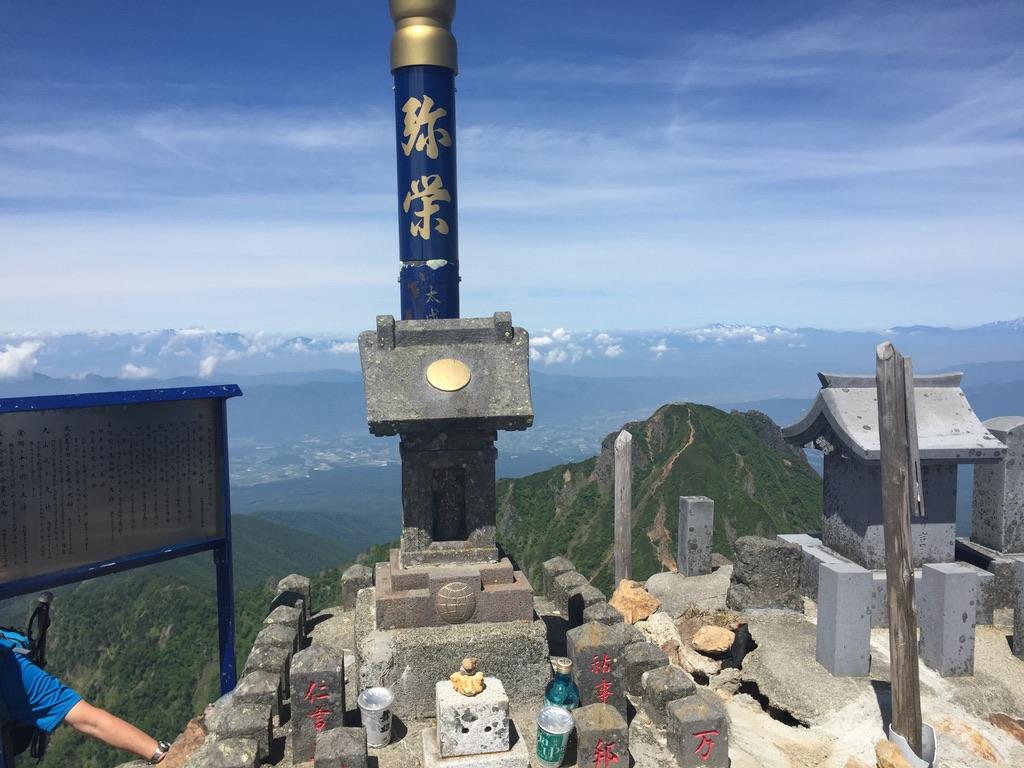 南八ヶ岳・赤岳山頂