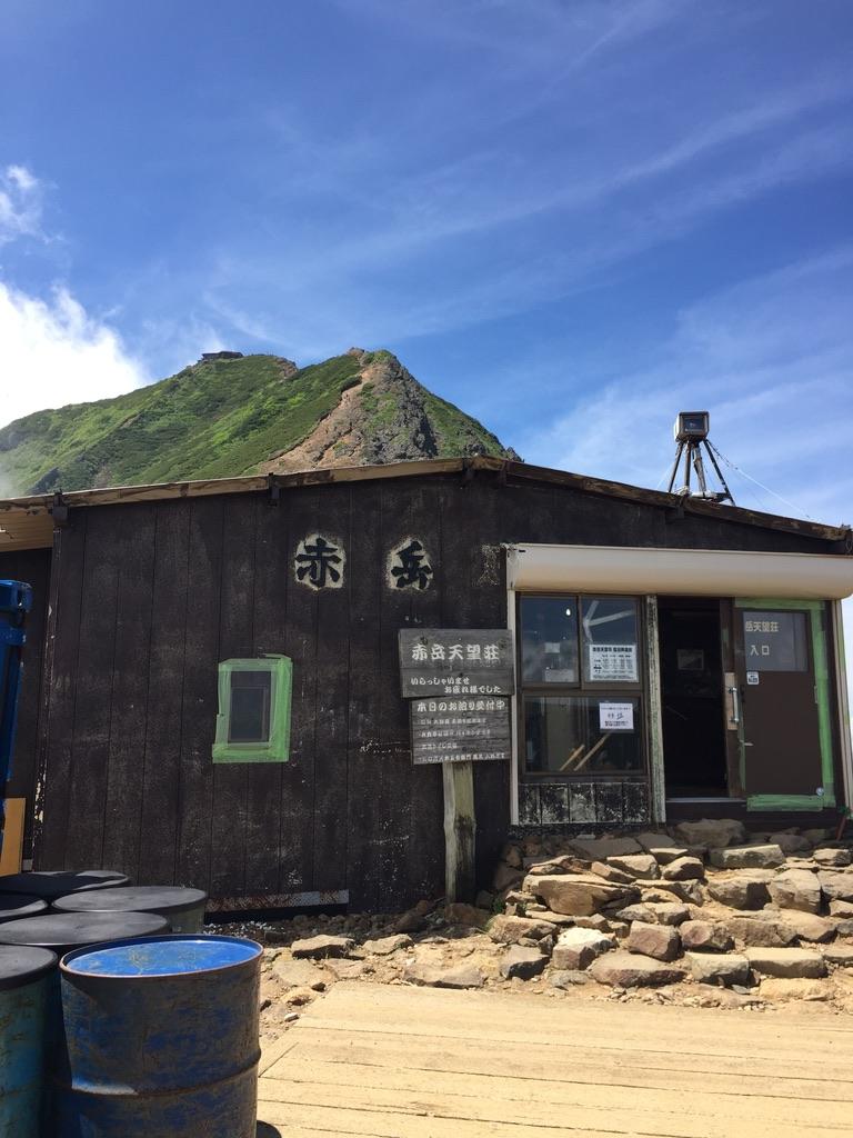 南八ヶ岳・赤岳展望荘と赤岳