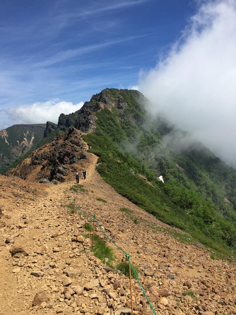 南八ヶ岳・赤岳から横岳へ