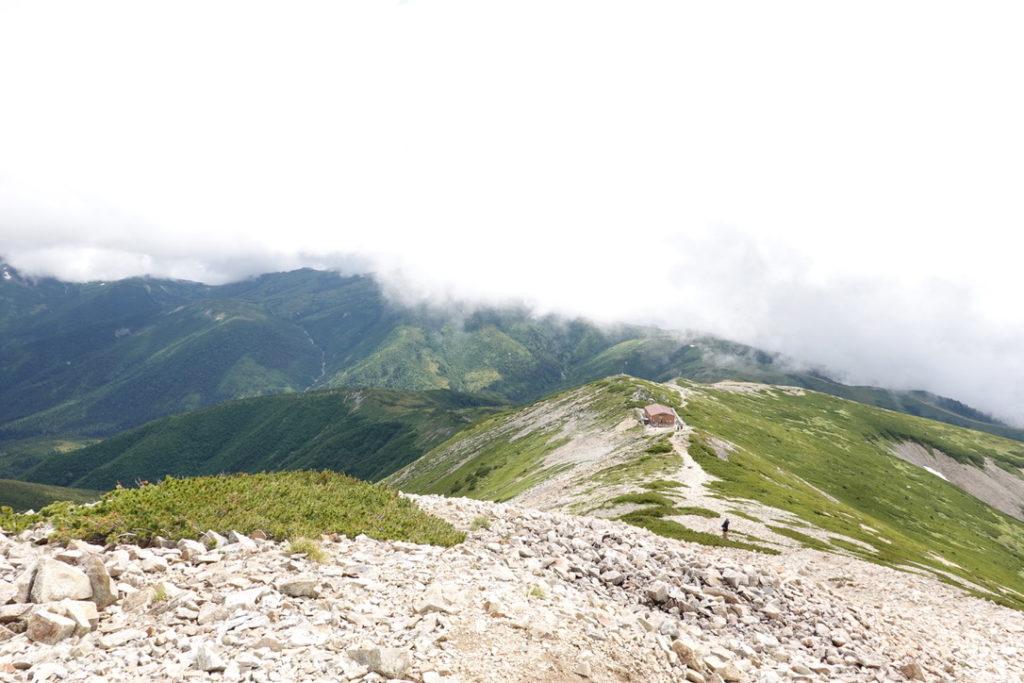 雲ノ平・再びの薬師岳山荘