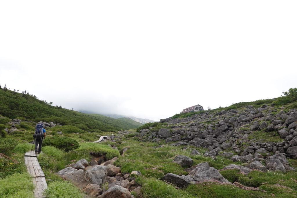 雲ノ平・雲ノ平山荘まであと少し