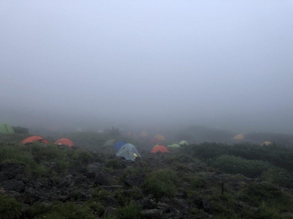 雲ノ平・雲ノ平キャンプ場