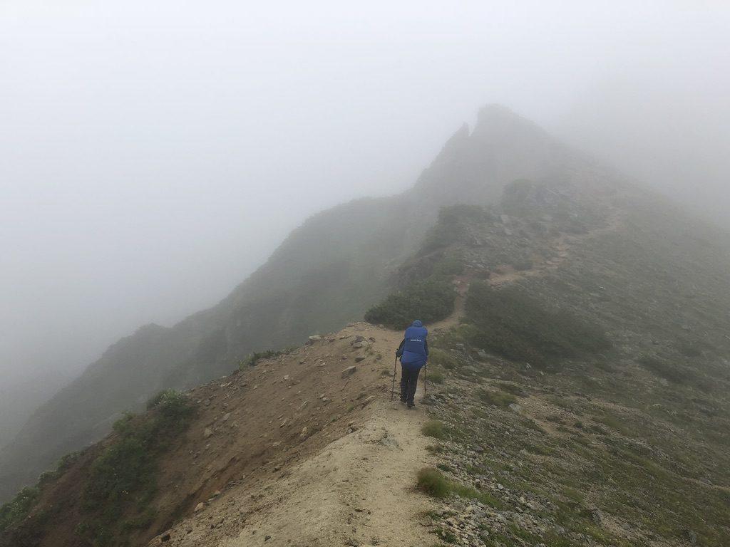 雲ノ平・断腸の思いでワリモ岳へ