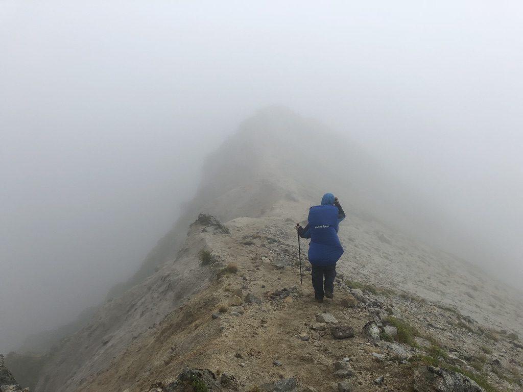雲ノ平・ワリモ岳から鷲羽岳