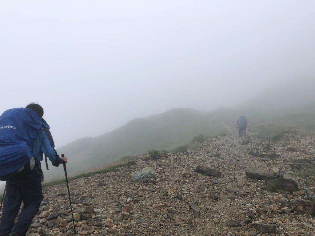 雲ノ平・三俣蓮華岳の登り