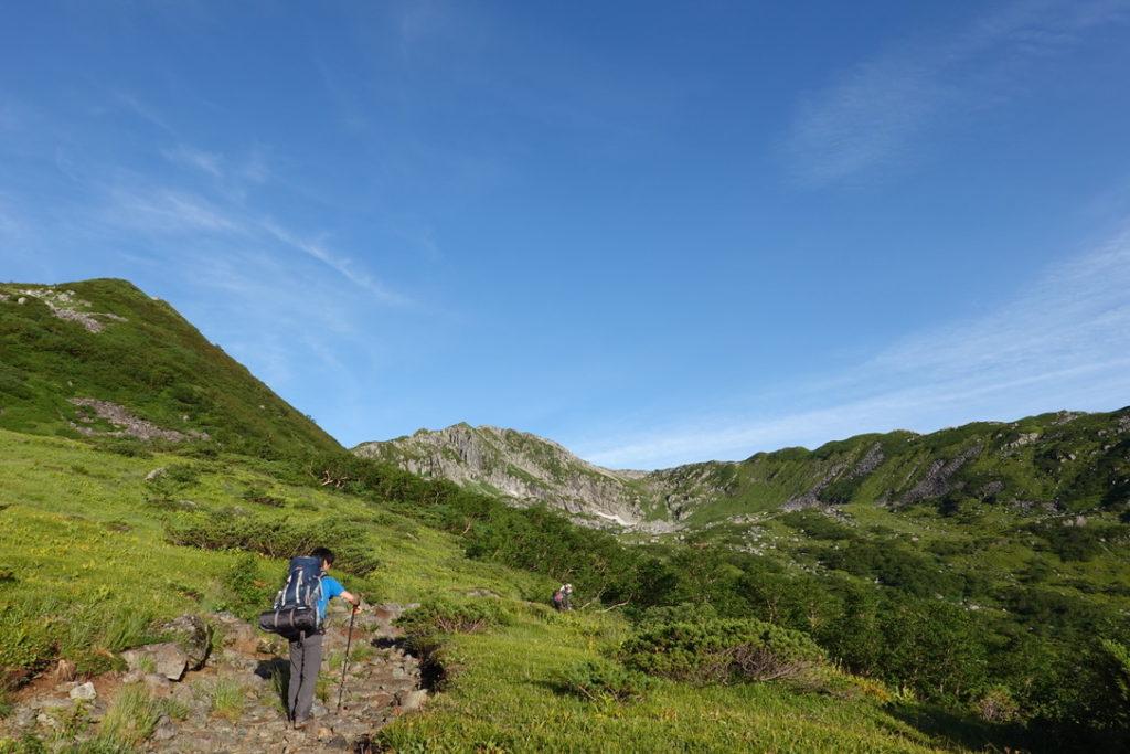 雲ノ平・黒部五郎岳カールの全貌が見えてきました!