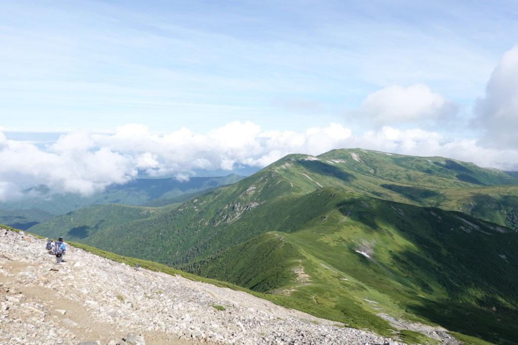 雲ノ平・黒部五郎岳から太郎平へ向かいましょう