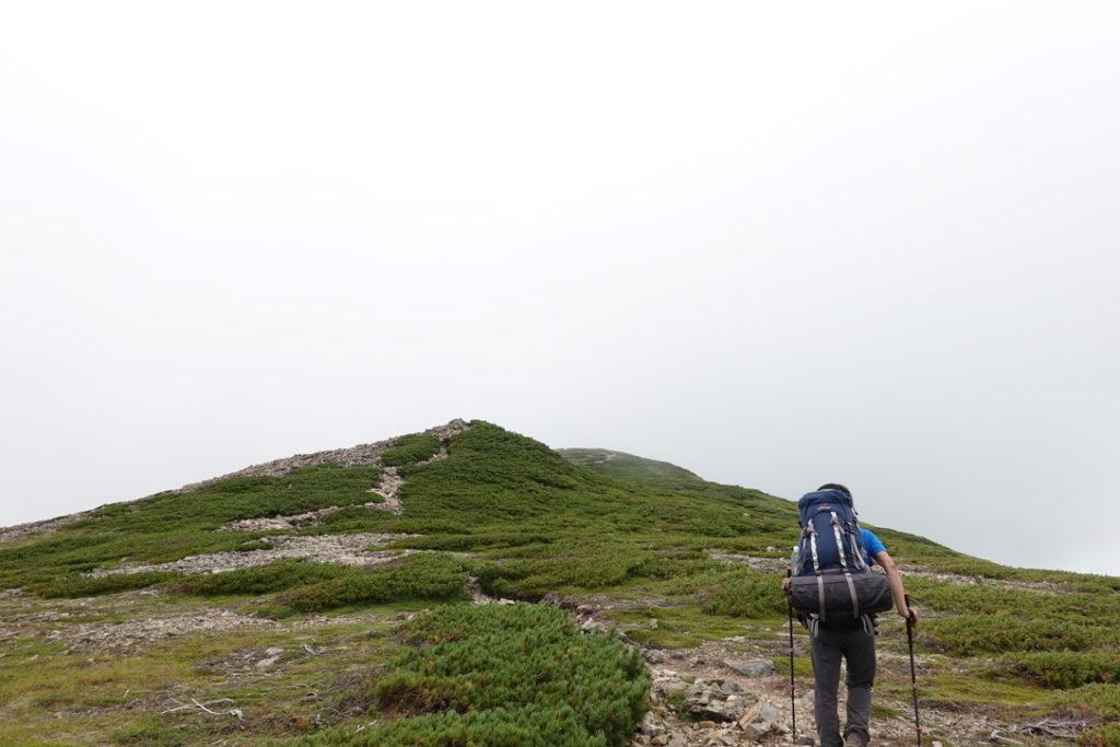 雲ノ平・赤木岳から北ノ俣岳へ