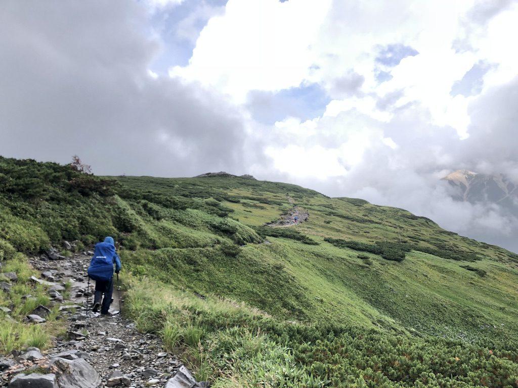 雲ノ平・北ノ俣岳から太郎山へ