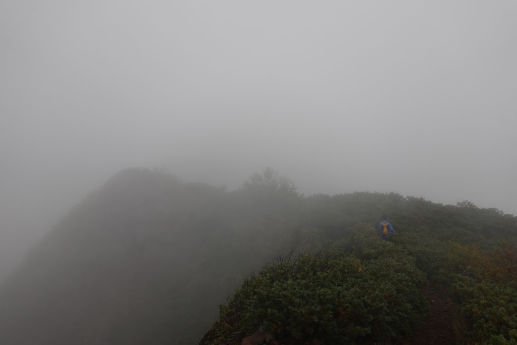 編笠山・権現岳・くさり場からさらに先へ
