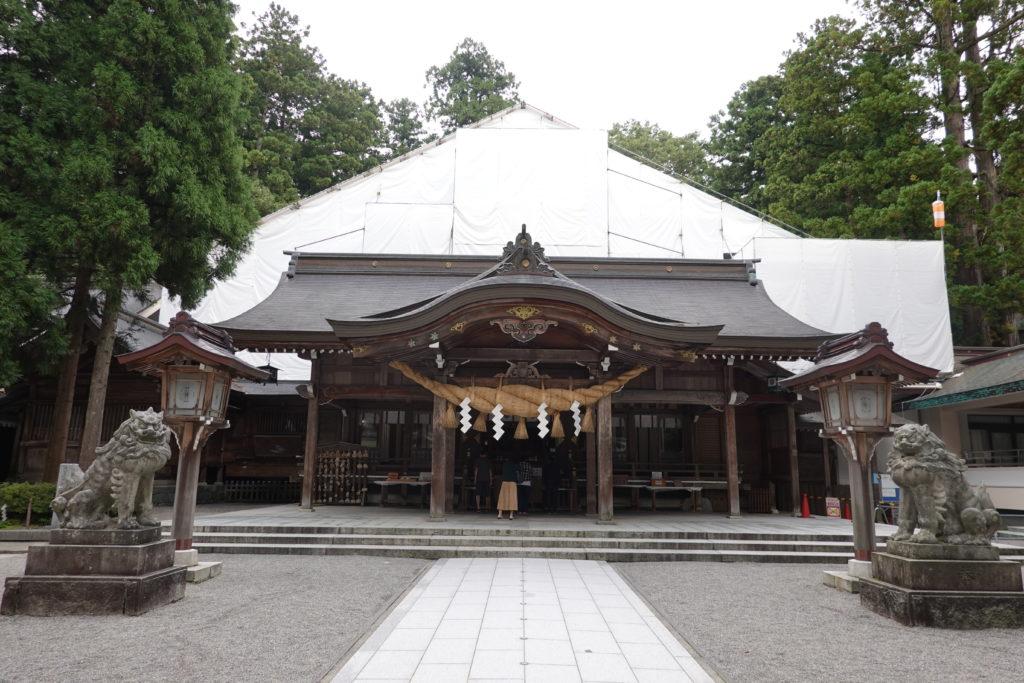 白山比咩神社・本宮ご社殿