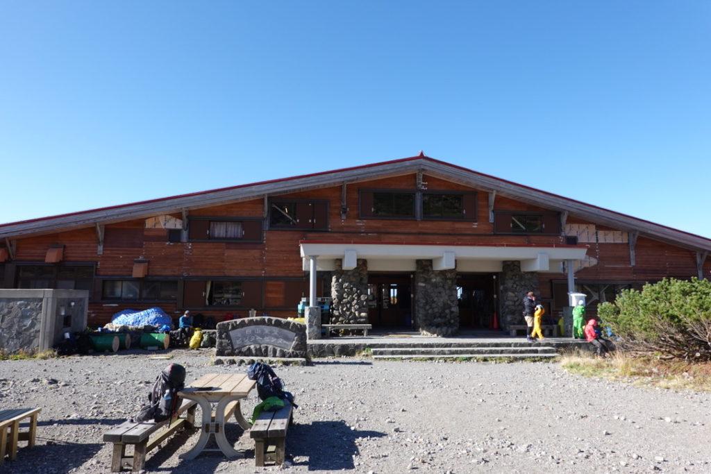 白山・白山室堂ビジターセンター(山側)