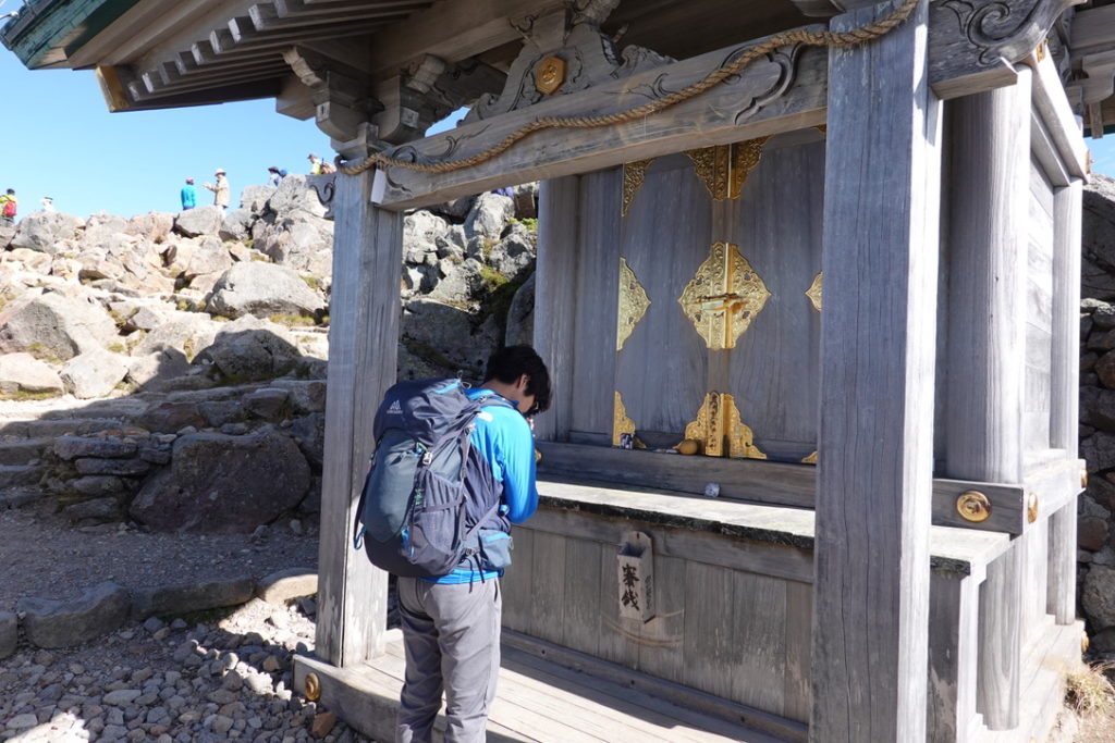 白山・白山比咩神社奥宮
