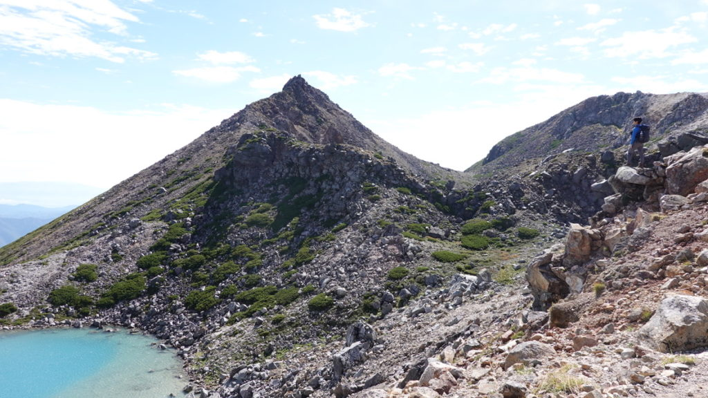 白山・剣ヶ峰と翠ヶ池