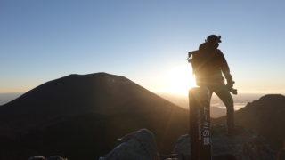 浅間山(前掛山)・トーミの頭からの前掛山