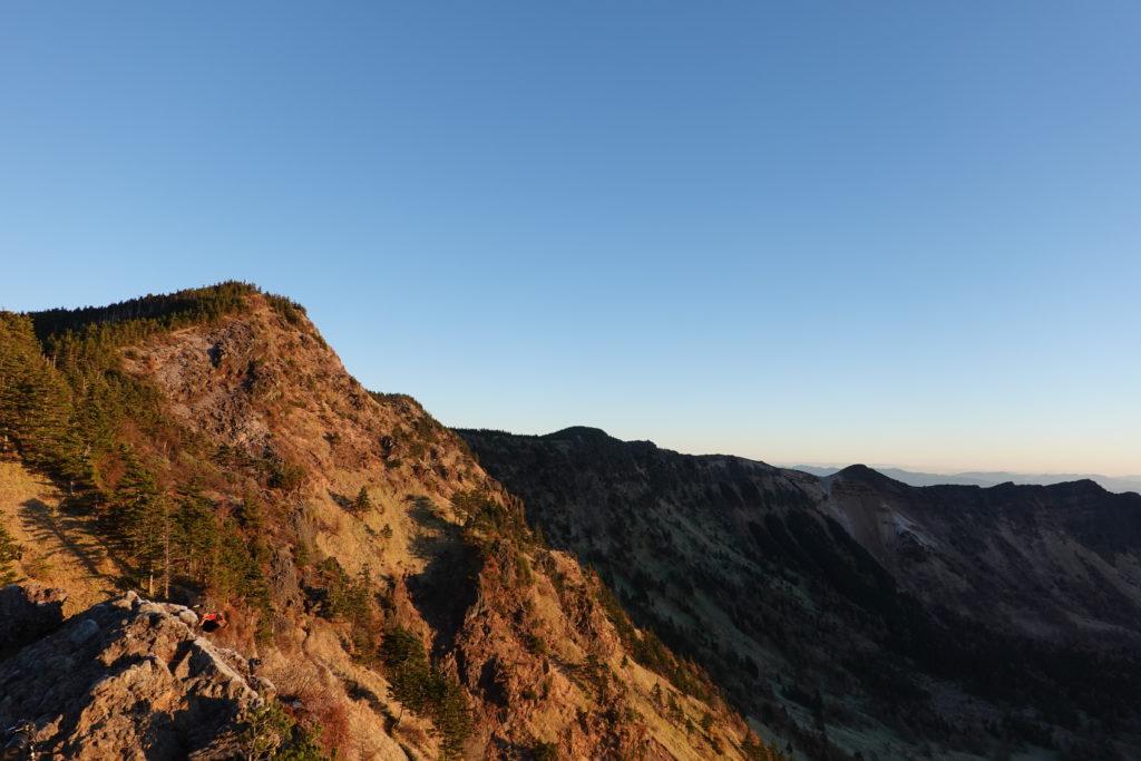 浅間山(前掛山)・トーミの頭からの浅間山外輪山