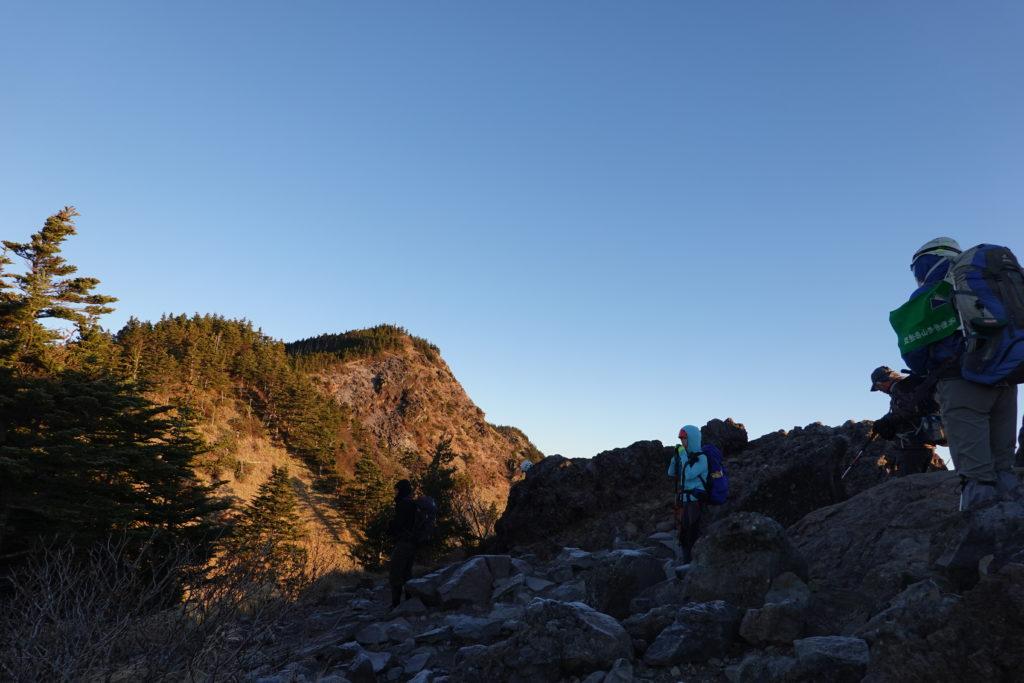 浅間山(前掛山)・トーミの頭から黒斑山