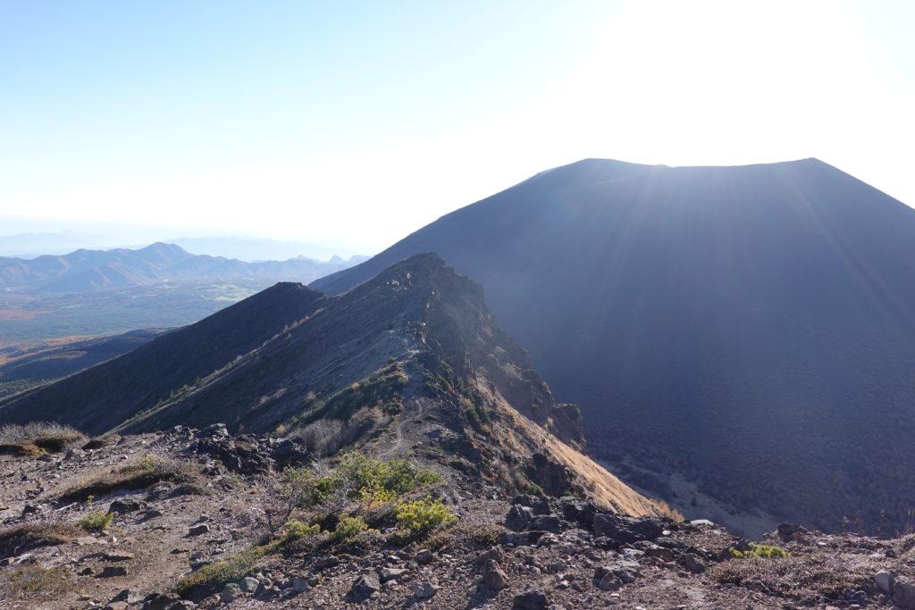 浅間山(前掛山)・浅間山外輪山・仙人岳から鋸岳へ