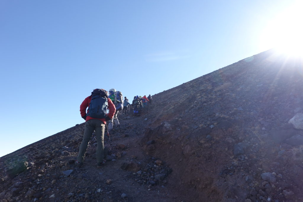 浅間山(前掛山)・前掛山は大人気