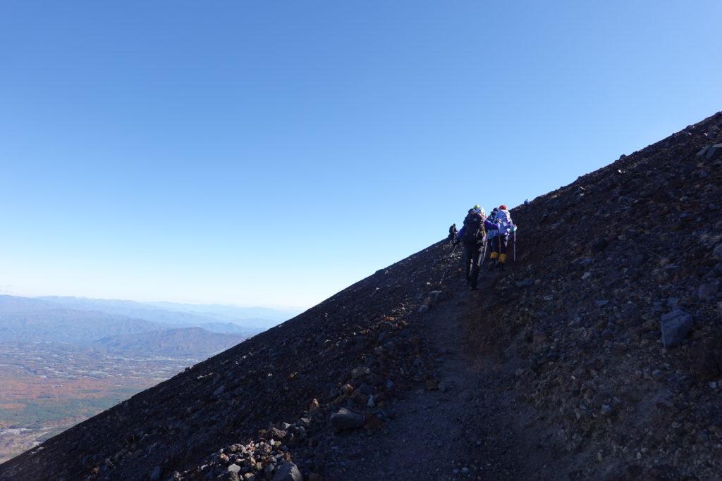 浅間山(前掛山)・前掛山から本気の浅間山