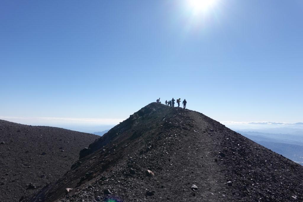浅間山(前掛山)・あとすこしで前掛山山頂