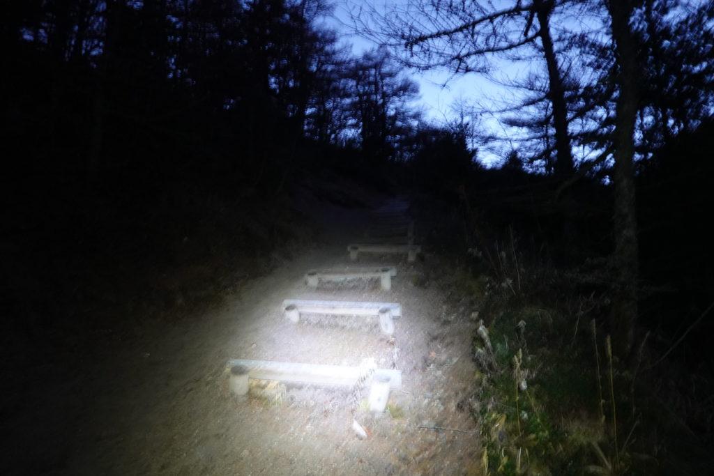 浅間山(前掛山)・車峠坂からトーミの頭へ