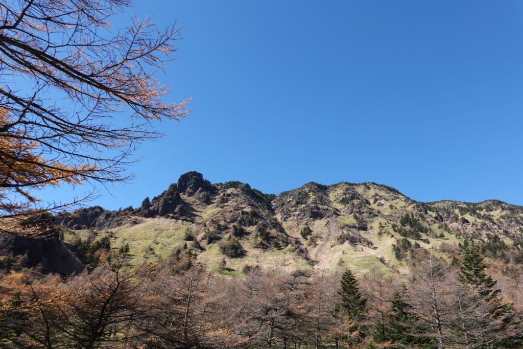 浅間山(前掛山)・湯ノ平口からのトーミの頭