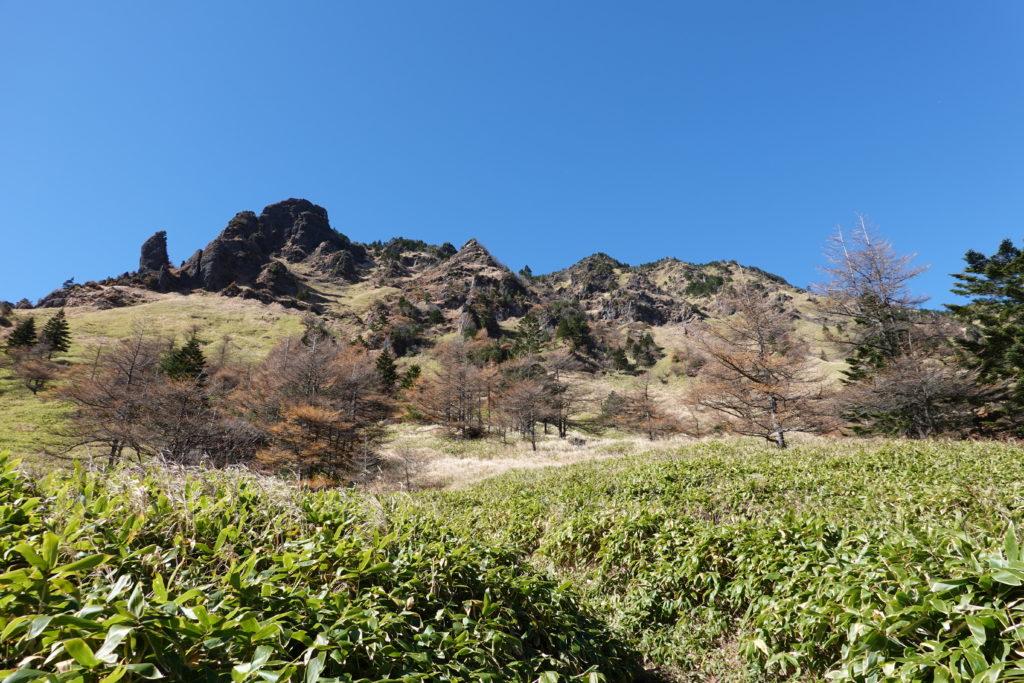 浅間山(前掛山)・草すべり