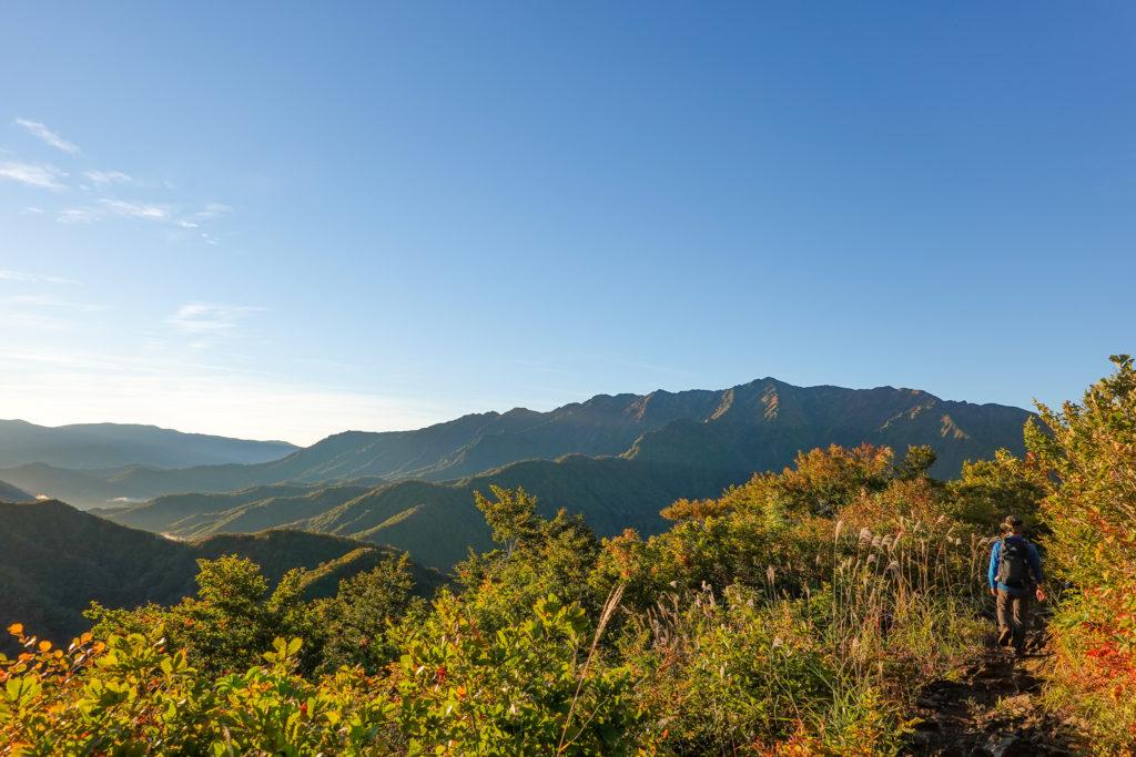 越後駒ヶ岳(魚沼駒ヶ岳)・枝折峠から明神峠へ