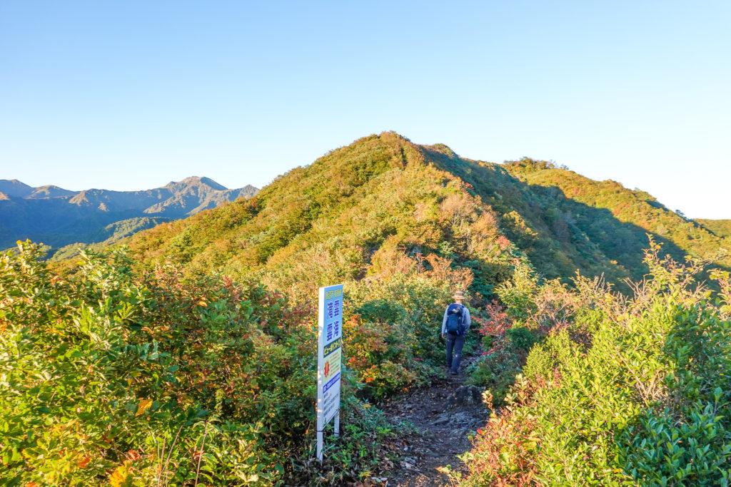越後駒ヶ岳(魚沼駒ヶ岳)・滝雲雲海ビューポイント2