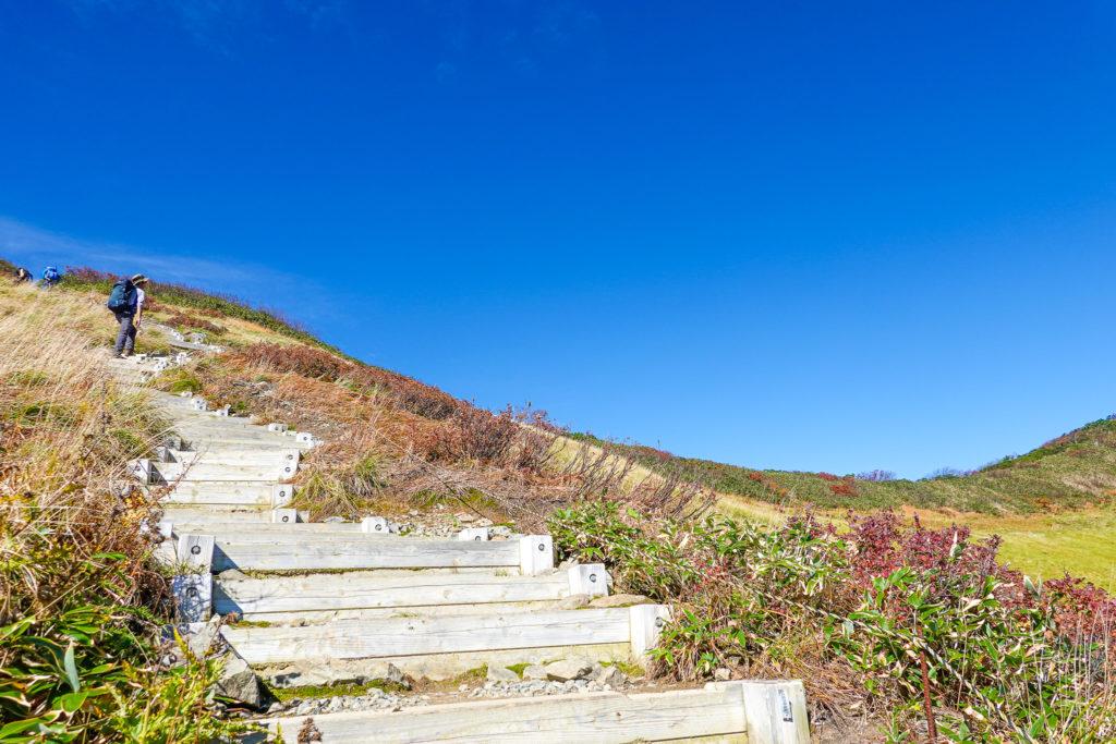 越後駒ヶ岳(魚沼駒ヶ岳)・越後駒ヶ岳山頂アタック2