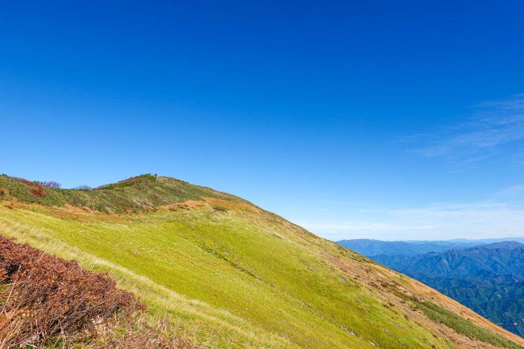 越後駒ヶ岳(魚沼駒ヶ岳)・越後駒ヶ岳山頂アタック3