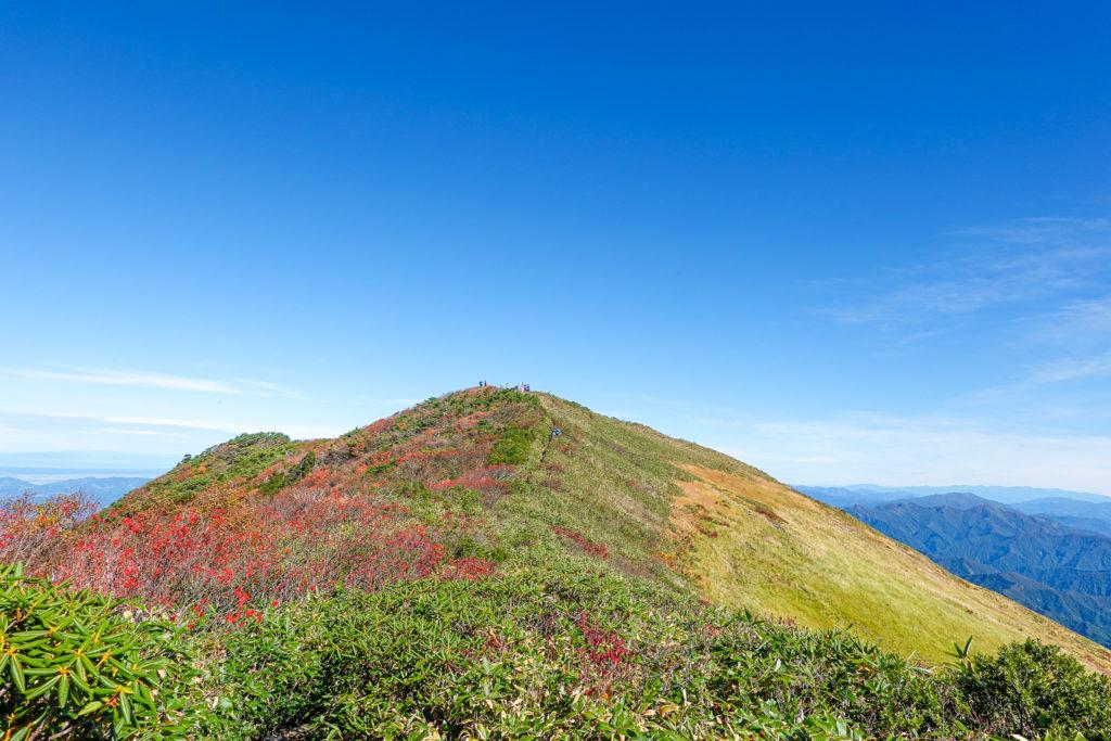 越後駒ヶ岳(魚沼駒ヶ岳)・越後駒ヶ岳山頂アタック4