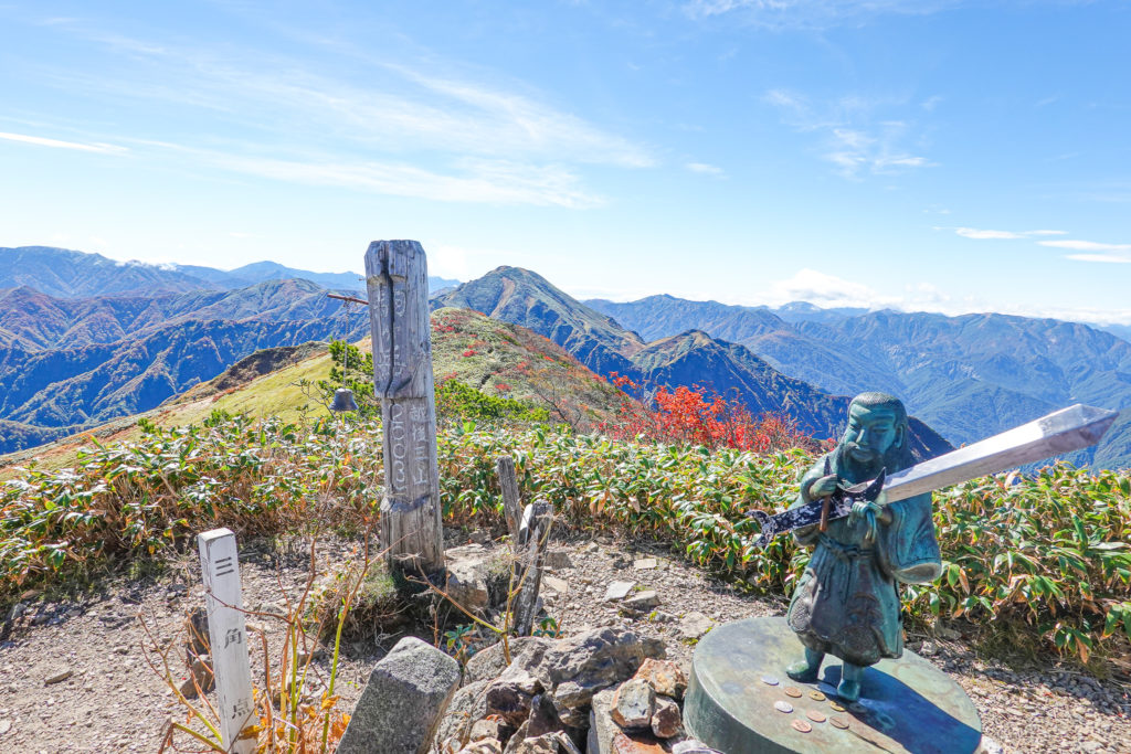 越後駒ヶ岳(魚沼駒ヶ岳)・越後駒ヶ岳(魚沼駒ヶ岳)山頂