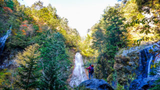 乗鞍岳・日本の滝百選・三本滝
