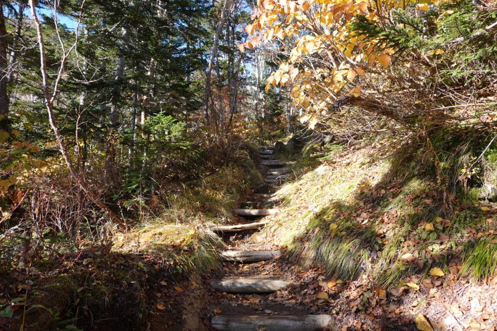 乗鞍岳・冷泉小屋から位ヶ原山荘へ