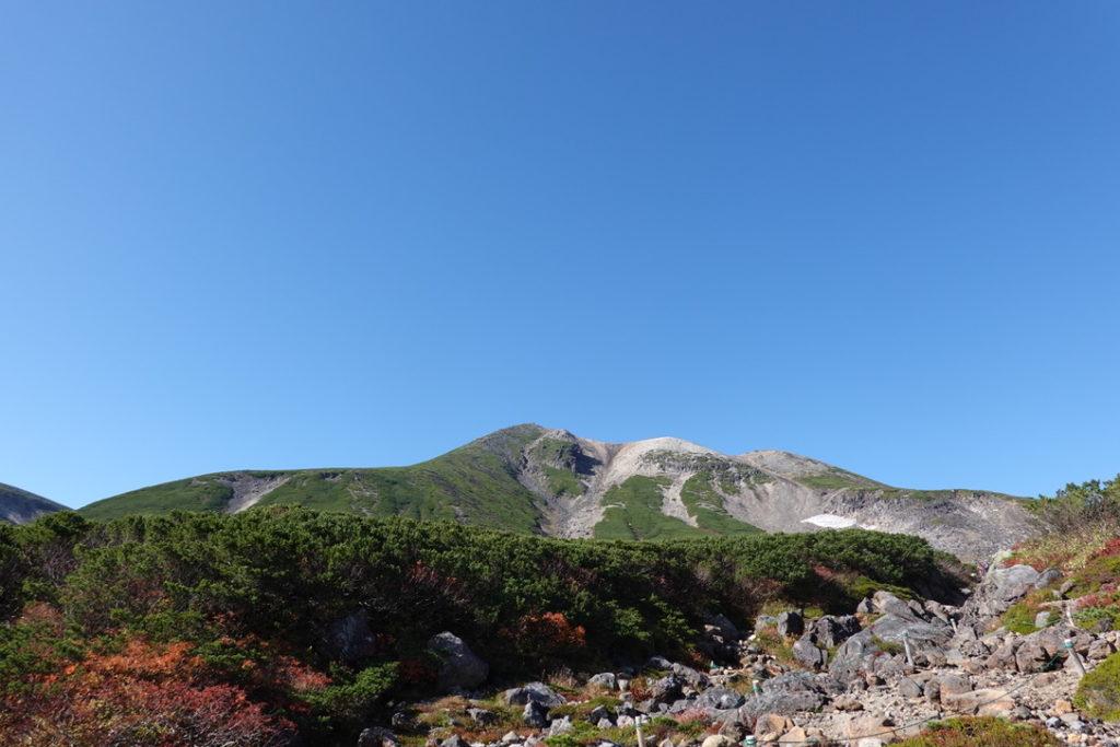 乗鞍岳・乗鞍エコーライン・肩の小屋口至る道・乗鞍岳が近づいてきた!